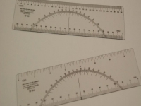 C THRU PROTRACTOR RULERS