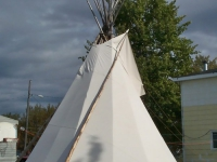 TIPI - FIRE RETARDANT CANVAS TIPI