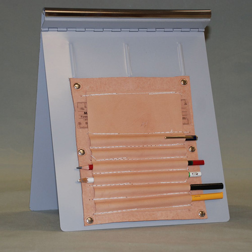 SHEET HOLDER WITH LEATHER #4161