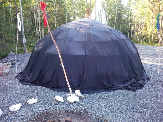 SWEAT LODGE COVER